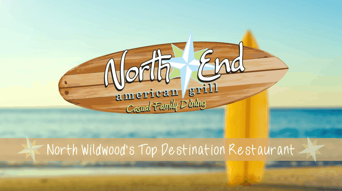 North End American Grill Promotional Video Overlay